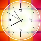 Disegno vettoriale astratto colorato orologio cronometro elemento grafico — Vettoriale Stock