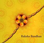 Raksha bandhan piękne tło indyjskich festiwal — Wektor stockowy