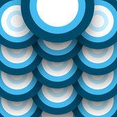 аннотация голубой красочным узором круг пузыри фона вектор — Cтоковый вектор