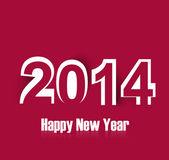 2014 Happy New Year fantastic card vector illustration — Stock Vector
