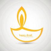 Religious background design for diwali festival vector — Stock Vector