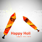 Abstract colorful holi celebration festival background — Stockvektor