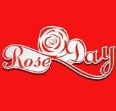 розы день валентина неделю красочные карты фон вектор — Cтоковый вектор