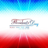 United States of America in President Day for beautiful vector b — Stock Vector
