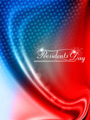 United States of America in President Day for beautiful design b — Stock Vector