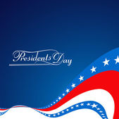 Beautiful President Day in United States of America with stylish — Stock Vector