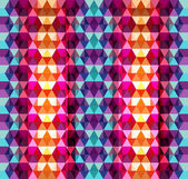Seamless geometric colorful mosaic pattern texture background  — Stock Vector