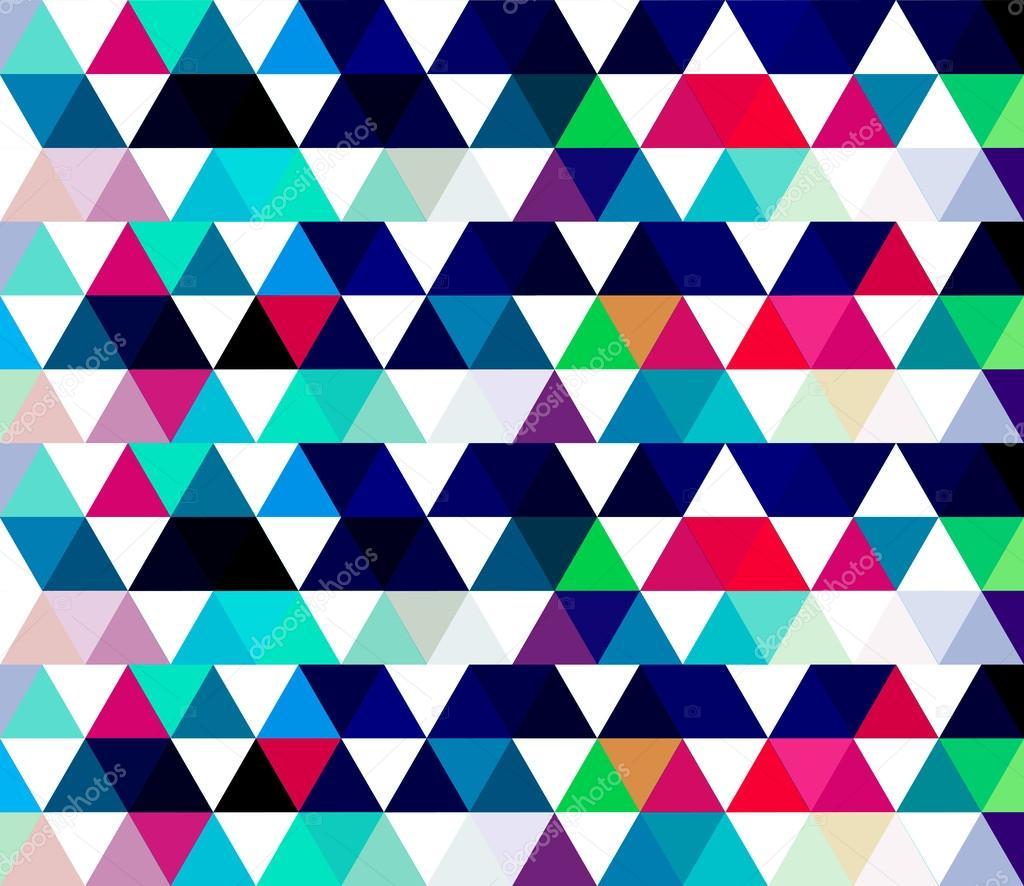Astratto geometrico texture colorate con triangoli     Vettoriali