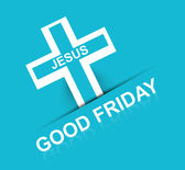 Good Friday Religious and elegant background colorful vector des — ストックベクタ