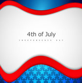 4th of july american independence day flag celebration creative  — Vecteur