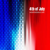 4th of July American Independence Day texture background vector  — Stock Vector