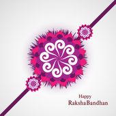 Raksha Bandhan Indian festival background  illustration vector — Stock Vector