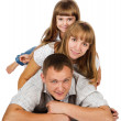 happy family — Stock Photo #12329485