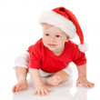 Ittle boy with Santa costume. — Stock Photo #13833677