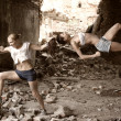 Foto de Stock  : Girl Fight