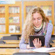 Female student in library. — Stock Photo #20257065