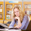 Female student in library. — Stock Photo #20257081