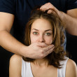 Royalty-Free Stock Photo: Domestic violence