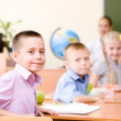 Portrait of schoolchild — Stock Photo