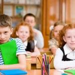 Portrait of happy school children — Stock Photo #32755317