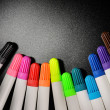 Stock Photo: Colored felt pens