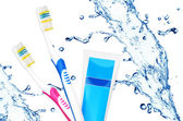 Tooth care — Stock Photo