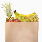 Bag of fruits — Stock Photo