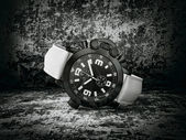 Luxury watch isolated on a darck background — Stock Photo
