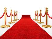 Ivent czerwony dywan — Zdjęcie stockowe
