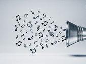 Musik bacground — Stockfoto