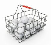 Golfový míček — Stock fotografie