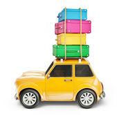 Travel car — Stock Photo
