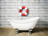 浴缸 — 图库照片
