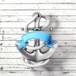 Stock Photo: Anchor