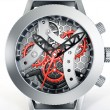 Skeleton watch — Stockfoto