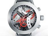 Skeleton watch — Stock Photo