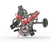 机械手表 — 图库照片