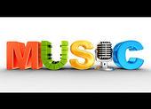 Musik — Stockfoto