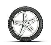 Tyre wheel — Stock Photo