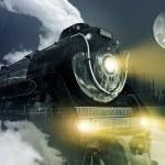 Hudson Steam Locomotive — Stock Photo