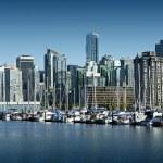 Vancouver Cityscape — Stock Photo
