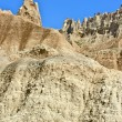 Badlands Pinnacles — Stock Photo