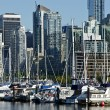 Stock Photo: Vancouver Downtown Overlook