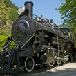 Steam Locomotive - Stockfoto