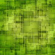 Stock Photo: Green Pixels Background
