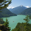 Постер, плакат: Diablo Lake Washington