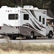 Stock Photo: class c motorhome