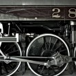 Steam Locomotive Closeup — Stock Photo #17168975
