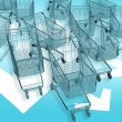 Cart-mageddon! — Foto Stock