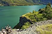St Mary Lake Montana — Stock Photo
